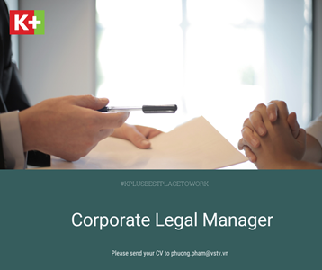 CORPORATE LEGAL MANAGER